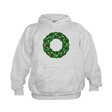 Celtic Wreath Kids Hoodie