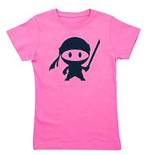 Cute Ninja Girl's Tee