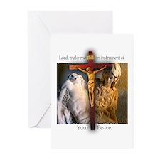 Crucifix/Pieta Greeting Cards (Pk of 20)