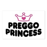 Preggo Princess Postcards (Package of 8)