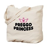 Preggo Princess Tote Bag