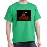 Moonrise Over DC T-Shirt