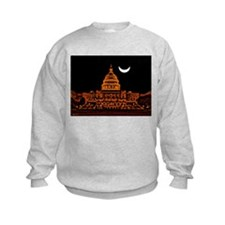 Moonrise Over DC Sweatshirt