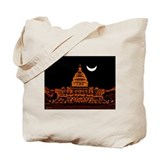 Moonrise Over DC Tote Bag