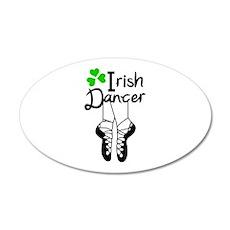 IRISH DANCER Wall Decal