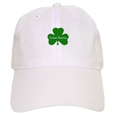 CUSTOM Shamrock with Your Name Baseball Baseball Cap