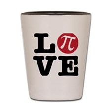 Love Pi Shot Glass