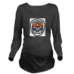 Chandler Police Long Sleeve Maternity T-Shirt