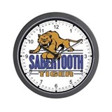 Saber tooth Tiger Wall Clock
