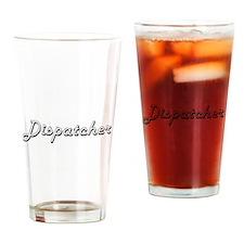 Dispatcher Classic Job Design Drinking Glass