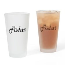 Fisher Classic Job Design Drinking Glass