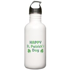Happy St. Patrick's Da Water Bottle
