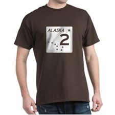 Route 2, Alaska T-Shirt