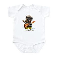 Pug Rocker Infant Bodysuit