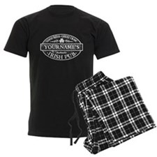 Custom Irish Pub Vintage Pajamas
