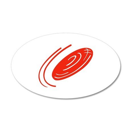 FRISBEE DISC Wall Decal