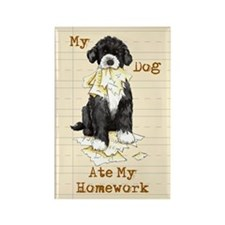 PWD Ate Homework Rectangle Magnet