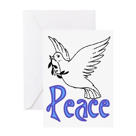PEACE DOVE #3 Greeting Card