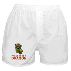 Proud To Be A Dragon Merchandise Boxer Shorts