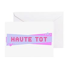 """""""Haute Tot"""" Greeting Cards (Pk of 20)"""