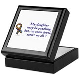 Puzzling (Daughter) Keepsake Box