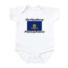 Gettysburg Pennsylvania Infant Bodysuit