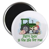 Farm Livin' (Boy) Magnet