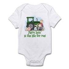 Farm Livin' (Boy) Infant Bodysuit