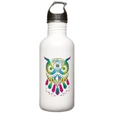 Green owl Water Bottle