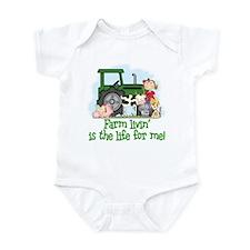 Farm Livin' (Girl) Infant Bodysuit
