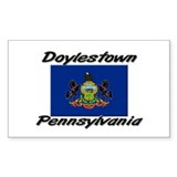 Doylestown Pennsylvania Rectangle Decal