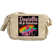 30 AND FABULOUS Messenger Bag