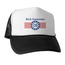 Rick Santorum 08 (circle-star Trucker Hat