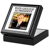 Rudy Giuliani for President '08 Keepsake Box