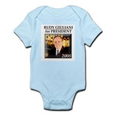 Rudy Giuliani for President '08  Infant Creeper