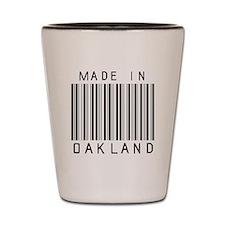 Oakland Barcode Shot Glass
