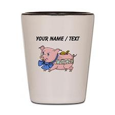 Piggy Bank (Custom) Shot Glass