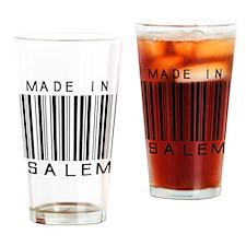 Salem Barcode Drinking Glass