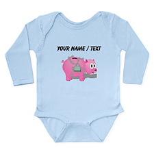 Locked Piggy Bank (Custom) Body Suit