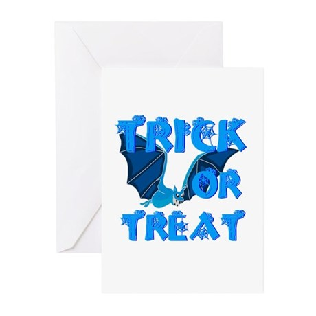 Trick or Treat Bat Greeting Cards (Pk of 20)