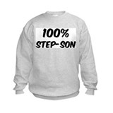 100 Percent Step-son Sweatshirt