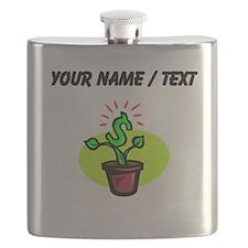 Money Plant (Custom) Flask