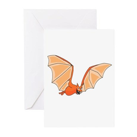 Flying Bat Greeting Cards (Pk of 10)