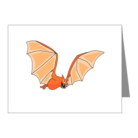 Flying Bat Note Cards (Pk of 10)