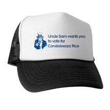 Uncle Sam: Condoleezza Rice Trucker Hat