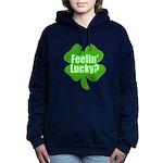 feelinlucky.png Women's Hooded Sweatshirt