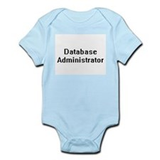 Database Administrator Retro Digital Job Body Suit