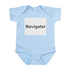 Navigator Retro Digital Job Design Body Suit