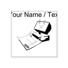 Tax Refund (Custom) Sticker