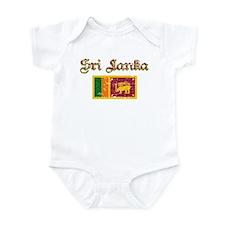Sri Lankan Flag Infant Bodysuit